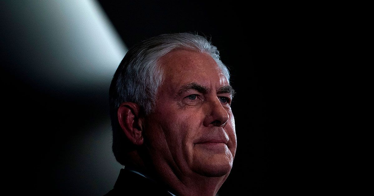 How Rex Tillerson Is Remaking the State Department