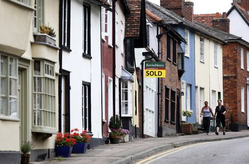Housing Recovery Outside London to Fuel 2% Price Rise Next Year