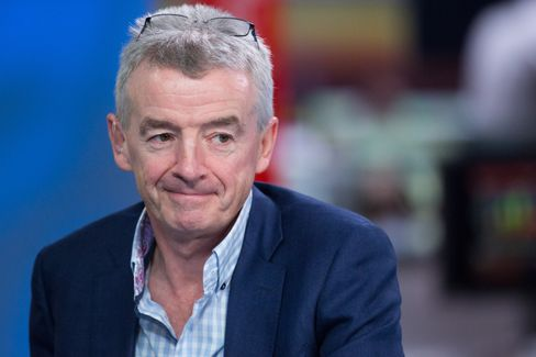 Michael O'Leary interviewed in London on May 23.