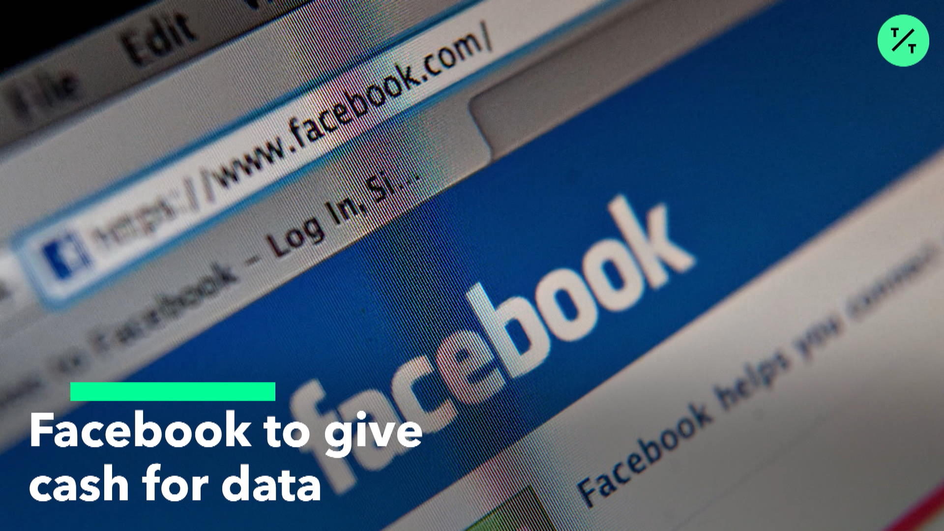 Facebook To Give Cash For Data