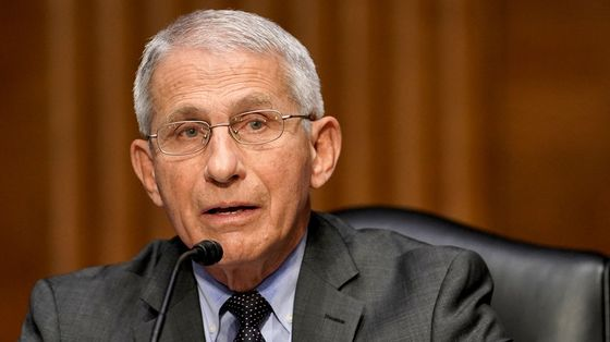 Fauci Urges U.S. Vaccinations as Harmful Variant Spreads in U.K.