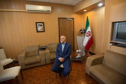 Iran Oil Minister Bijan Namdar Zanganeh