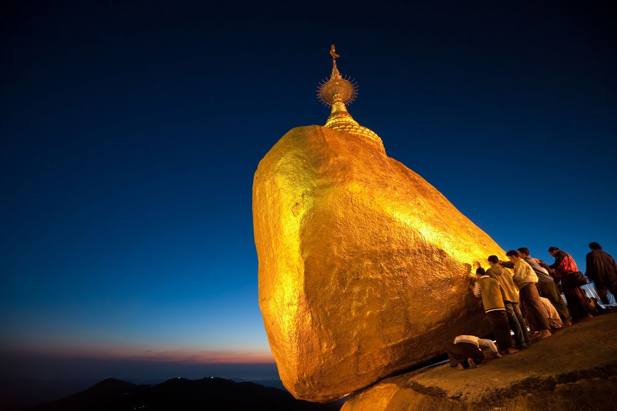 Golden Boulder Pagoda