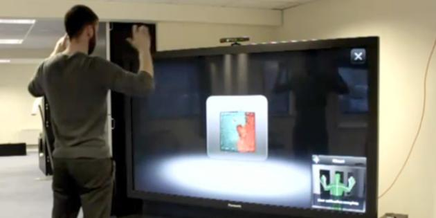 PowerPoint Presentations Controlled with Kinect