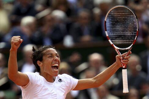 Tennis Player Francesca Schiavone of Italy