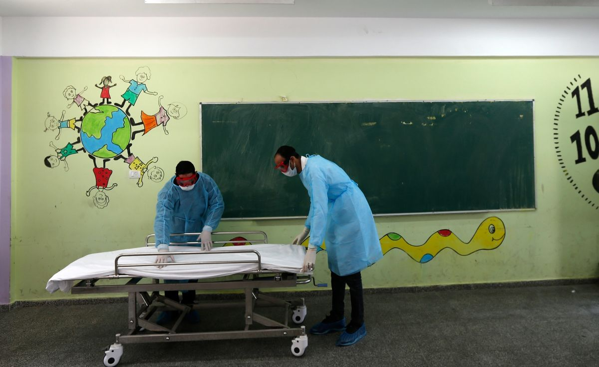 The Virus Could Force a New Reality on Gaza