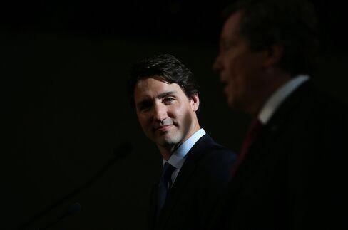 Justin Trudeau, Canada's prime minister.