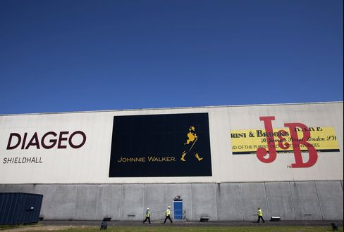 Diageo Sees Expanding Latin America While Europe Cools