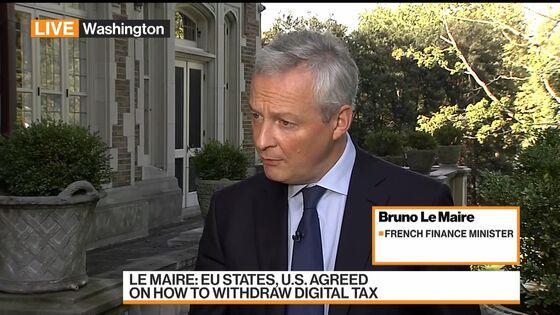 France Says U.S. Must Drop Tariffs Threat Over Digital Taxes