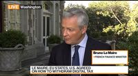 relates to France's Le Maire Sees 'Tax Revolution' in OECD Agreement