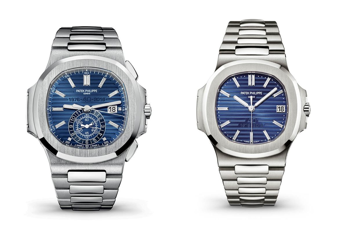 Patek Philippe Just Introduced Two New Watches for Nautilus Fanatics