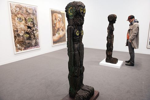 Sculptures by Huma Bhabha