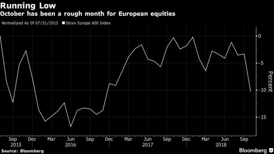 European Stocks Pare Worst Month Since 2016 as Earnings Reassure