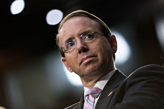 Rosenstein Suggested Secretly Recording Trump But Was Joking, Witness Says