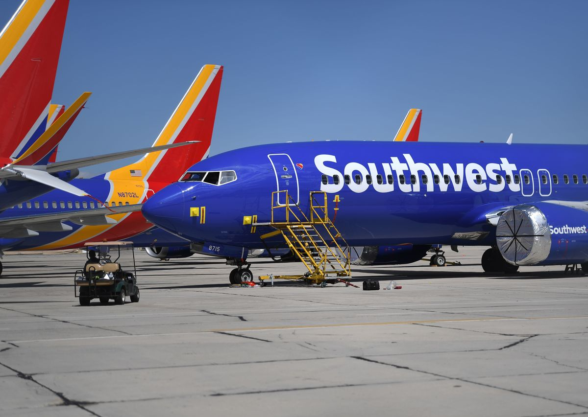 Southwest to Avoid First Layoffs as Relief Bill Clears