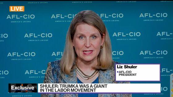 AFL-CIO's Shuler Says Priority Is Overhaul of U.S. Labor Laws