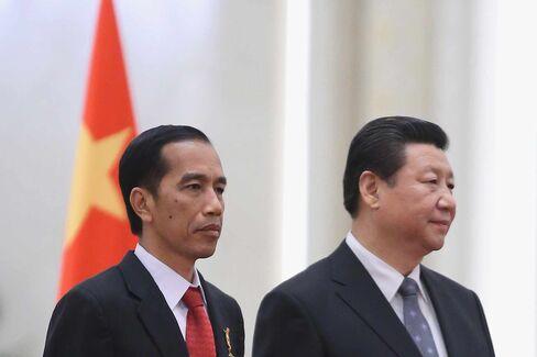 Indonesian President Joko Widodo Visits China