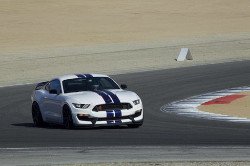 The 2016 Ford Mustang GT350 R.