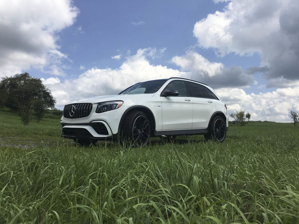 Mercedes-Benz AMG GLC 63 SUV Review - Bloomberg