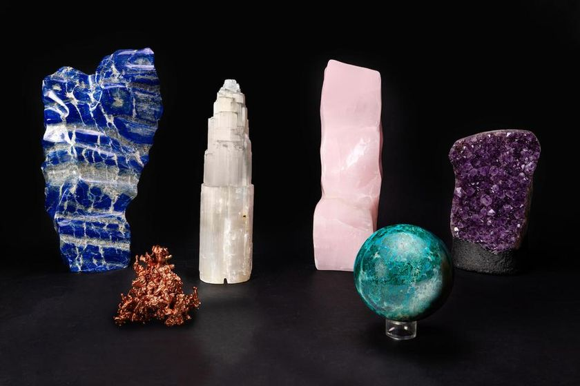 relates to The Market for Crystals Is Outshining Diamonds in the Covid Era