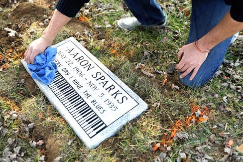 The Man Who Buys Headstones For Blues Musicians