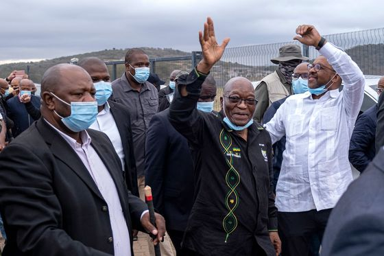 Defiant Zuma Says S.Africa Court Convicted Him Without Trial