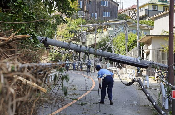 As Extreme Storms Wreck Power Grids, Japan Seeks Home Battery Networks