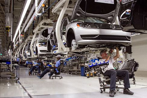 VW Plant's Union Vote Could Be a Southern Labor Breakthrough