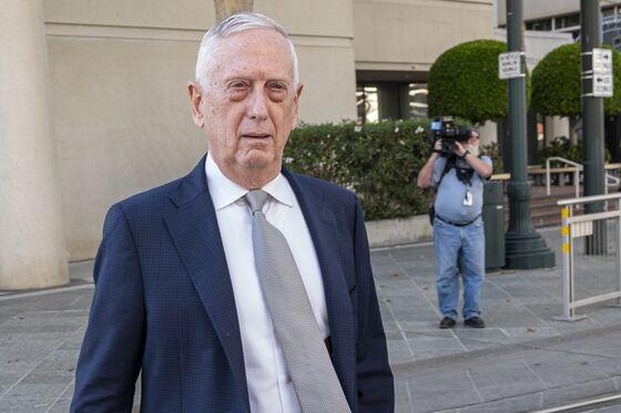 Ex-Defense Chief Mattis Says HeTrusted Holmes, Lost Money in Theranos