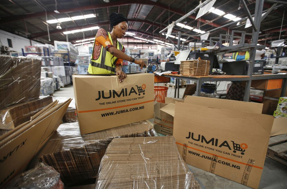 Image result for people working for Jumia in Nigeria images""
