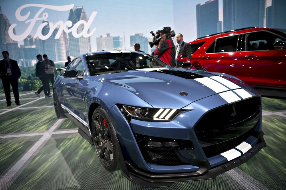 North American Auto Show 2020.Ford Debuts Most Powerful Mustang Ever 2020 Ford Shelby