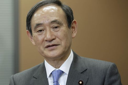 Japanese Chief Cabinet Secretary Yoshihide Suga Interview