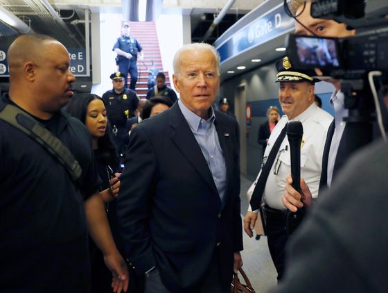 Biden Banks on Trump to Help Win White House in 2020