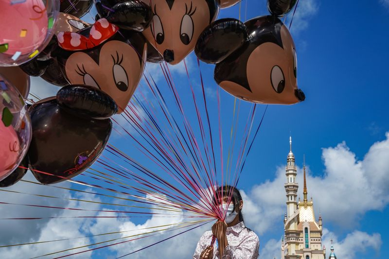 Hong Kong Disneyland Reopens With Virus Safeguards