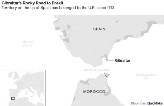 U.K. Gambling's Gibraltar Outpost Braces for Brexit Border Woes