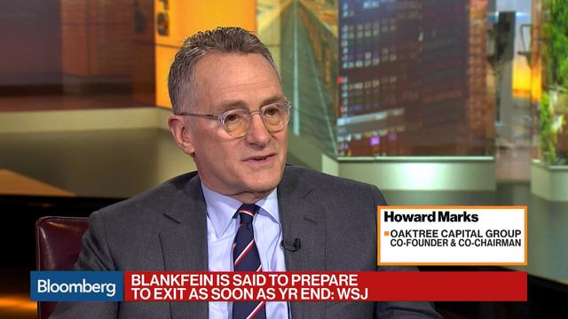 Oaktree Capital's Howard Marks says Goldman Sachs