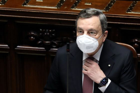 Draghi's Agenda Faces Resistance From His Staunchest Ally