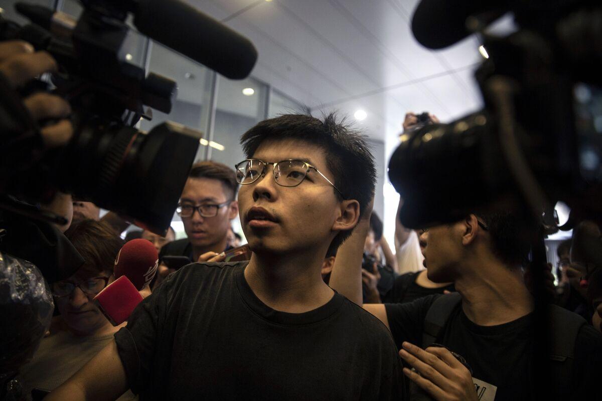 In Leaderless Hong Kong Movement, Joshua Wong Just One Voice