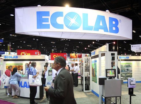 Ecolab Agrees to Buy Champion Technologies for $2.2 Billion