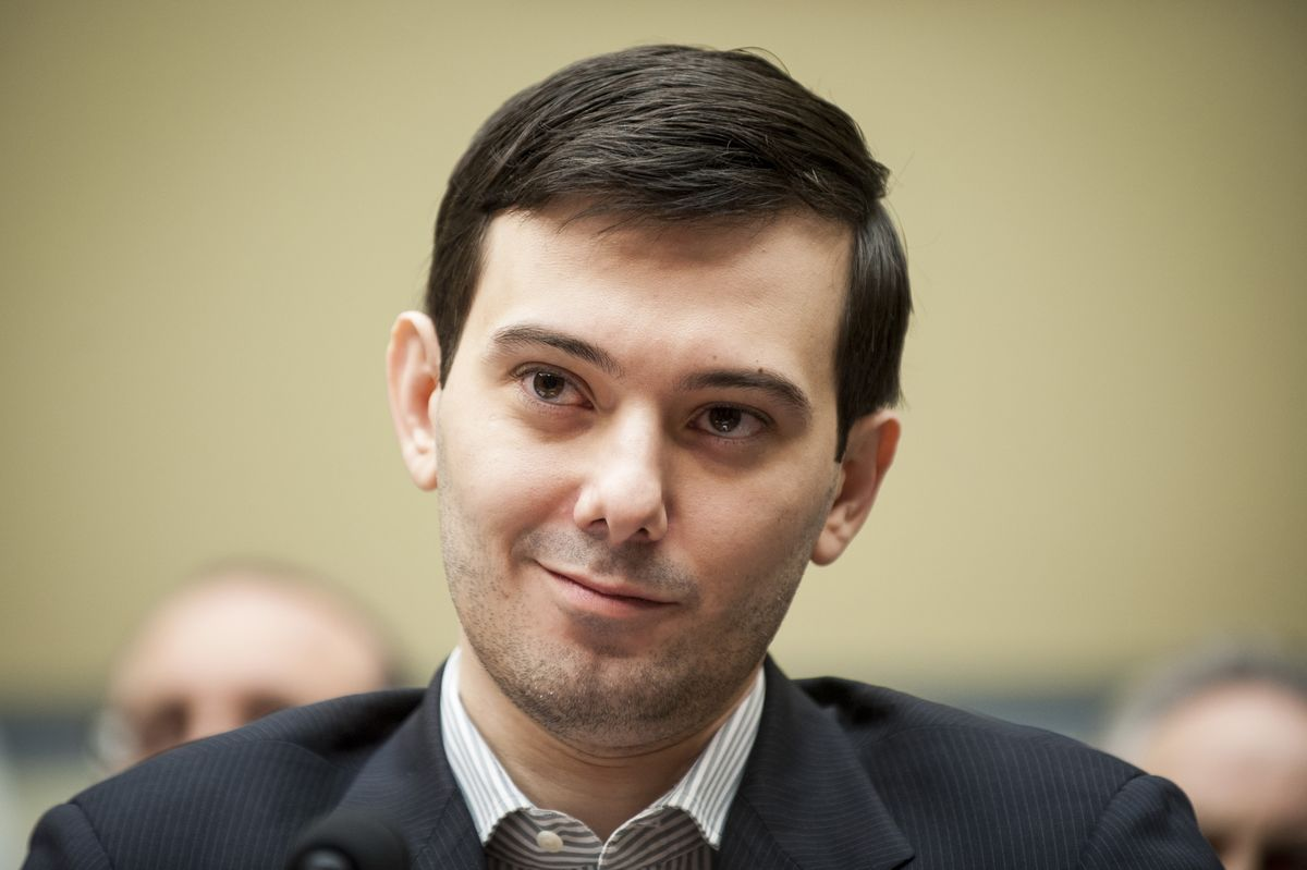Shkreli-Founded Biotech Seen Ripe for Buying as Shares Tumble