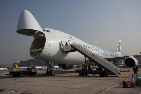 Cathay Pacific Reports Surprise Loss on Cargo Slump, Affiliates