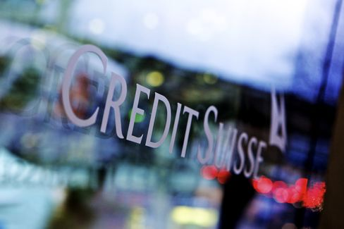 Credit Suisse Bankers Bet $450 Million on Firm's Assets