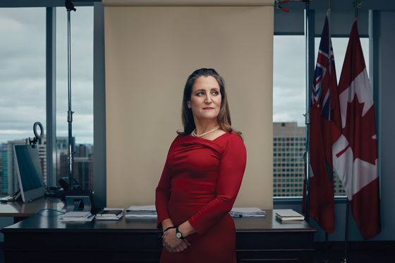 Chrystia Freeland Is Trying to Supercharge Canada's Growth