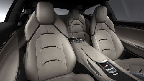 The interior of the GTC4 Lusso.