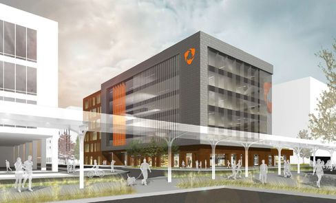 Rendering of completed Hudl headquarters. Source: WRK Real Estate