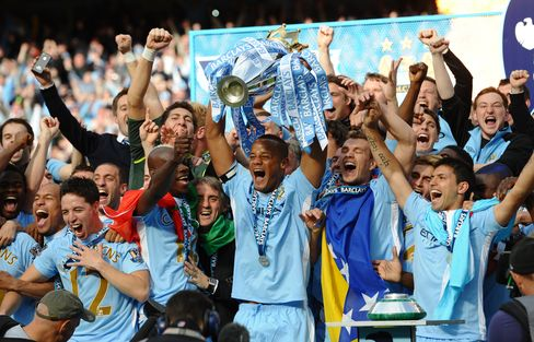 Manchester City Is Bookmakers' Premier League Choice Over United