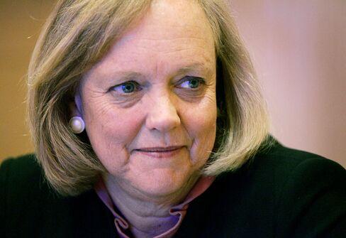 Heweltt-Packard CEO Meg Whitman