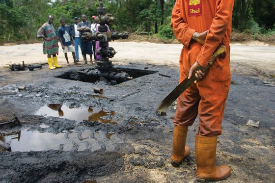 Shell Tries to Come Clean on Its Dirty Past in Nigeria
