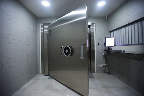 The Safe House silver vault