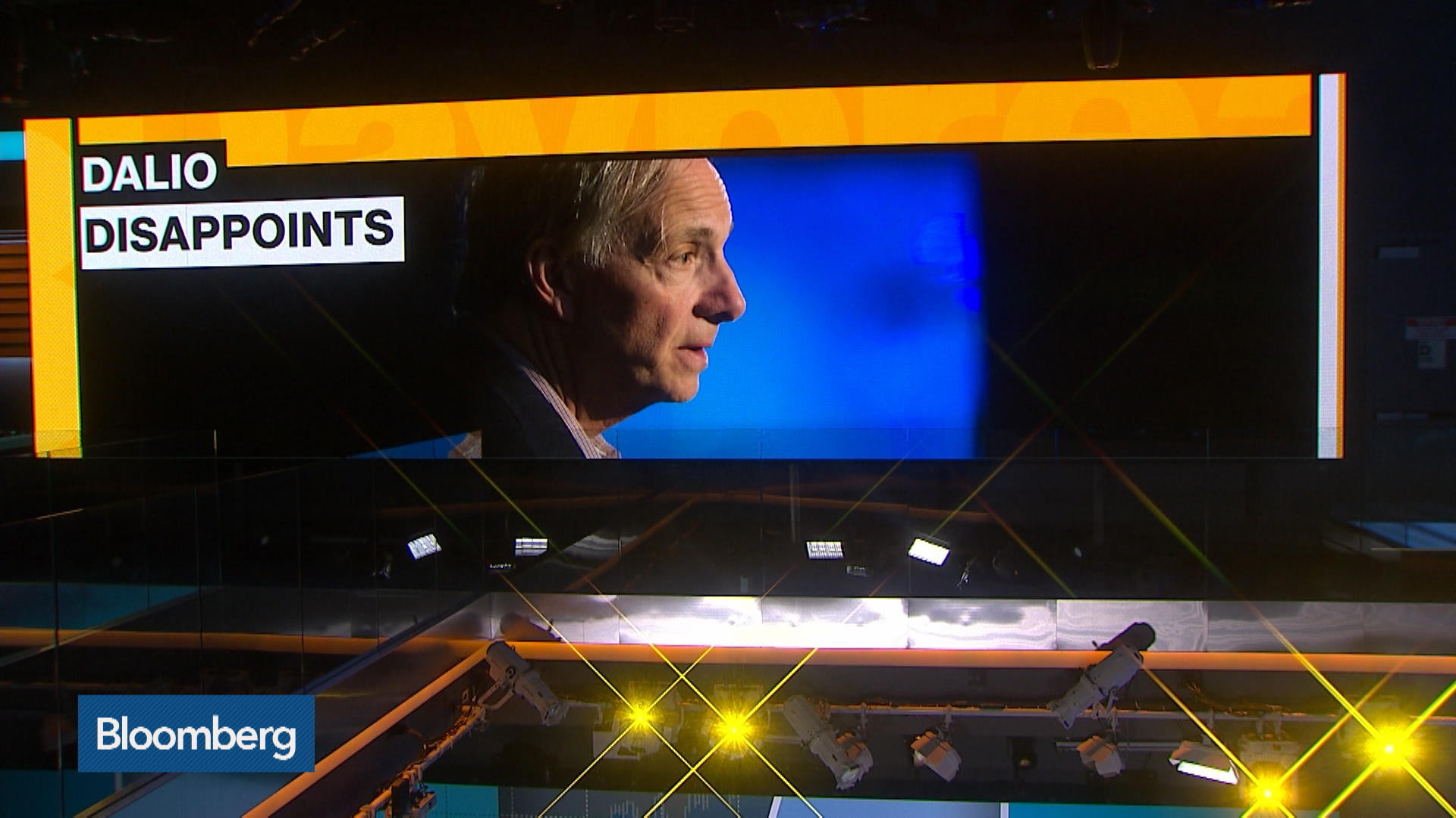 Ray Dalio's Bridgewater Fund Fails to Bounce Back From Low Bond Yields